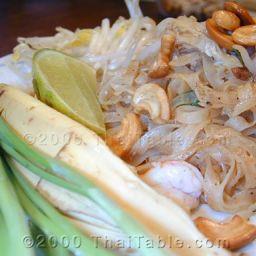 Pad Thai - ผัดไทยกุ้งสด