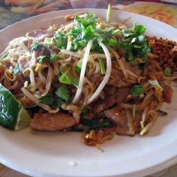 Pad Thai with pork