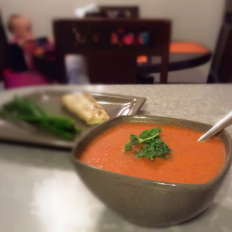 Paleo Creamy Tomato Basil Soup