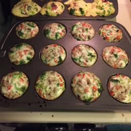 Paleo Egg White Muffins