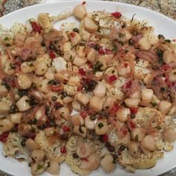 Paleo Sea Scallops and Cauliflower