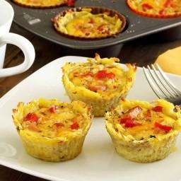 Paleo Sweet Potato Egg Cups Recipe
