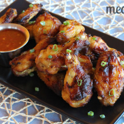Paleo Glazed Chicken Wings