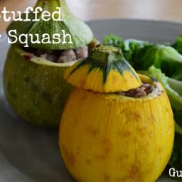 Paleo Stuffed Summer Squash