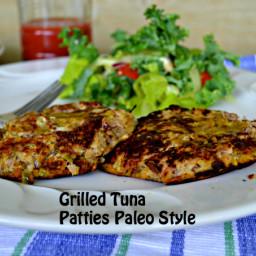 Paleo Tuna Patties