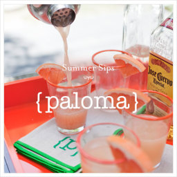 Paloma - grapefruit and tequila tipple,