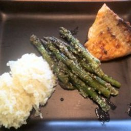 Pan-Fried Salmon With Riesling Honey Mustard