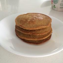 Pancakes de Banano y Granola