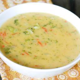 Pandera broccoli cheddar soup