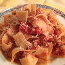 Pappardelle with Veal Ragu