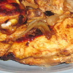 Paprika Roast Chicken With Sweet Onion