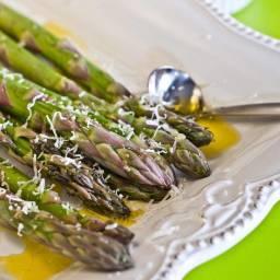 Parmesan and Sea Salt Asparagus
