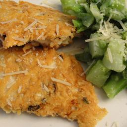 PARMESAN-CRUSTED CHICKEN CUTLETS (17)