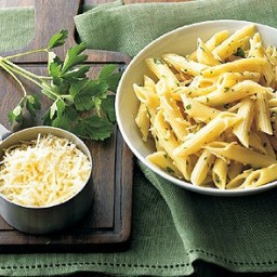 Parmesan-Parsley Penne Pasta