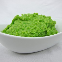 Parmesan Pea Puree