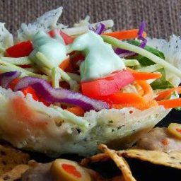 Parmesan Salad Bowls