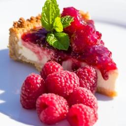 White Chocolate Raspberry Cheesecake Recipe Bon Appetit