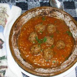 Pasta Meatball Soup (Albondigas Soup)