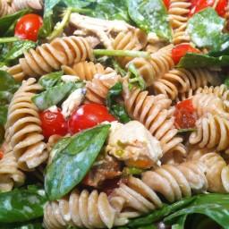 Pasta- Spinach, Tomatoes & Gorgonzola
