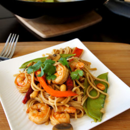 Pasta Series Part 2 – Kung Pao Shrimp Lo Mein