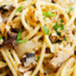 Pasta With Sardines, Bread Crumbs and Capers