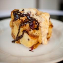 PB&J Bread Pudding