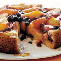 Peach Blueberry Cake