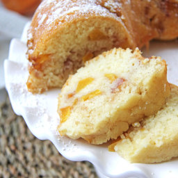 Peach Bundt Cake