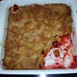 Peach Cobbler Crumb Cake