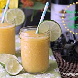Peach and Honey Sangria Slushies, plus Giveaway!