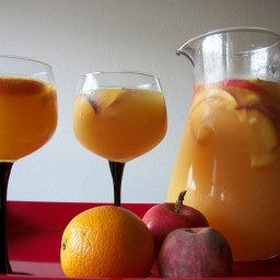 Peachy-Keen Sangria
