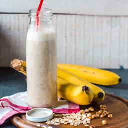 Peanut Butter Banana Milkshake