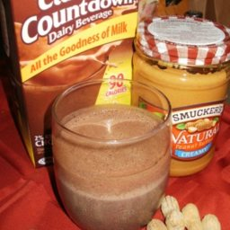 Peanut Butter Cup Smoothie (Low Carb)