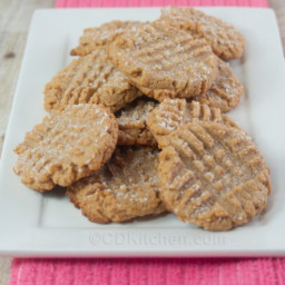 Peanut Butter low carb cookies