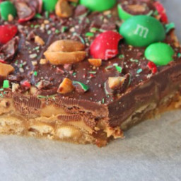 Peanut butter toffee crackers