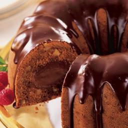 Peanut Tunnel of Fudge Cake