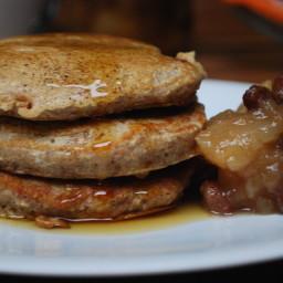 Pear and Cinnamon Pancakes