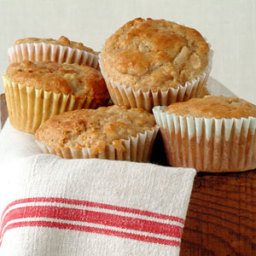 Pear and Walnut Muffins