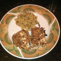 Pecan-Crusted Grouper