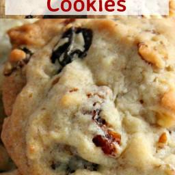 Pecan Raisin Cookies