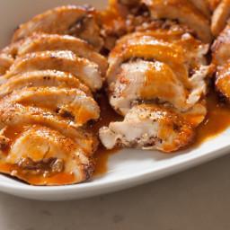 Pecan-Stuffed Chicken Breast