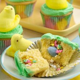 PEEPS® Chick Surprise-Inside Cupcakes