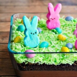 PEEPS Easter Bunny Dirt Cake Recipe