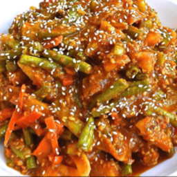 Penang Acar ( Penang Spicy Pickled Vegetables )
