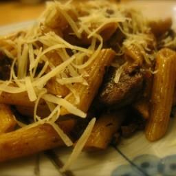 Penne con la Salciccia (Penne w/Hot Italian Sausage)