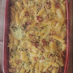 Penne pasta and cheese