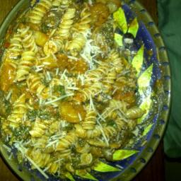 Penne rosa with mushrooms/shrimp