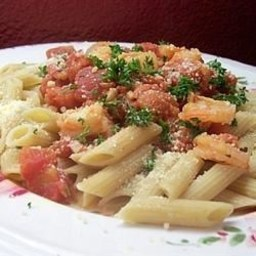 Penne with Shrimp