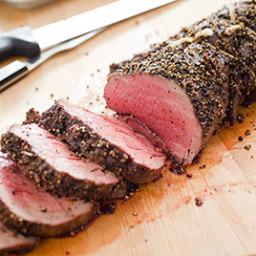 Pepper-Crusted Beef Tenderloin Roast