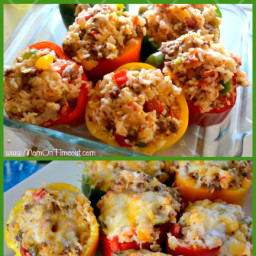 Pepper Potts' Stuffed Bell Peppers {#Recipe}
